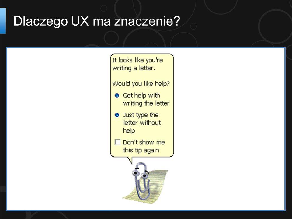 Dlaczego UX ma znaczenie?