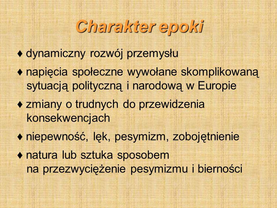 Cyganeria (Bohema) Środowisko artystyczne (skupiało poetów, dramaturgów, malarzy, aktorów).