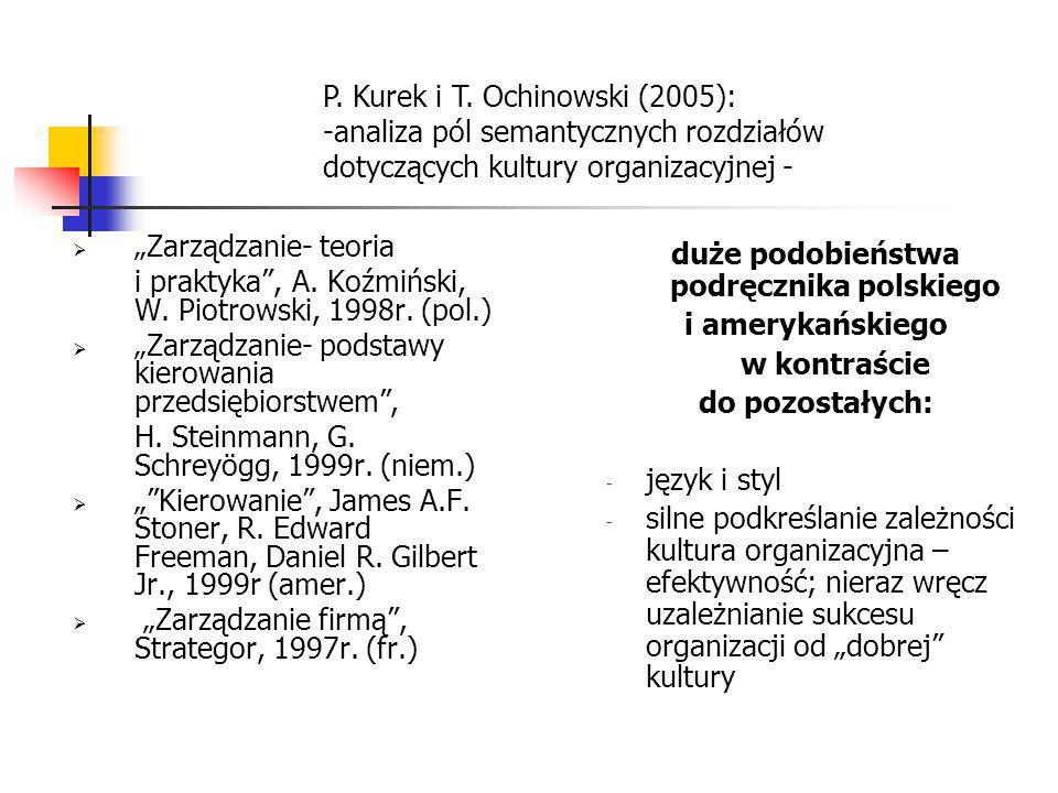 """ """"Zarządzanie- teoria i praktyka"""", A. Koźmiński, W. Piotrowski, 1998r. (pol.)  """"Zarządzanie- podstawy kierowania przedsiębiorstwem"""", H. Steinmann, G"""