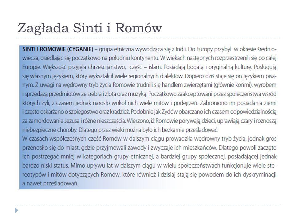Zagłada Sinti i Romów