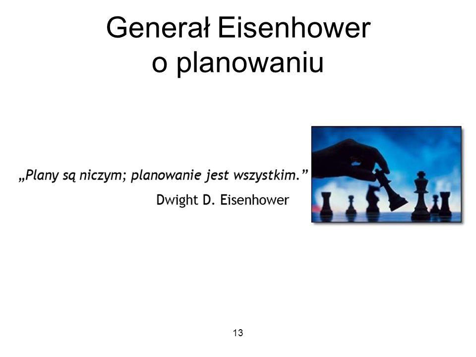 Generał Eisenhower o planowaniu 13