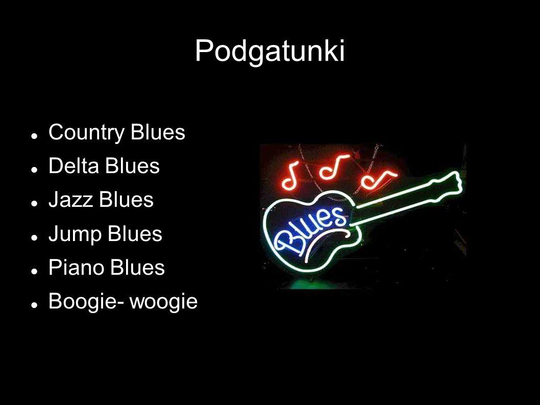 Forma Klasyczny blues jest najczęściej formą 12- taktową Zasadniczo opiera się na trzech podstawowych akordach systemu harmonicznego dur-moll: tonice, subdominancie i dominancie, lecz otwarty jest na nieograniczone możliwości interpretacyjne i improwizacyjne