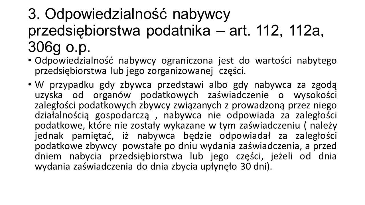 Przykład: Nabywca składników majątku uzyskał od organu podatkowego zaświadczenie datowane na 15 listopada 2012 r.