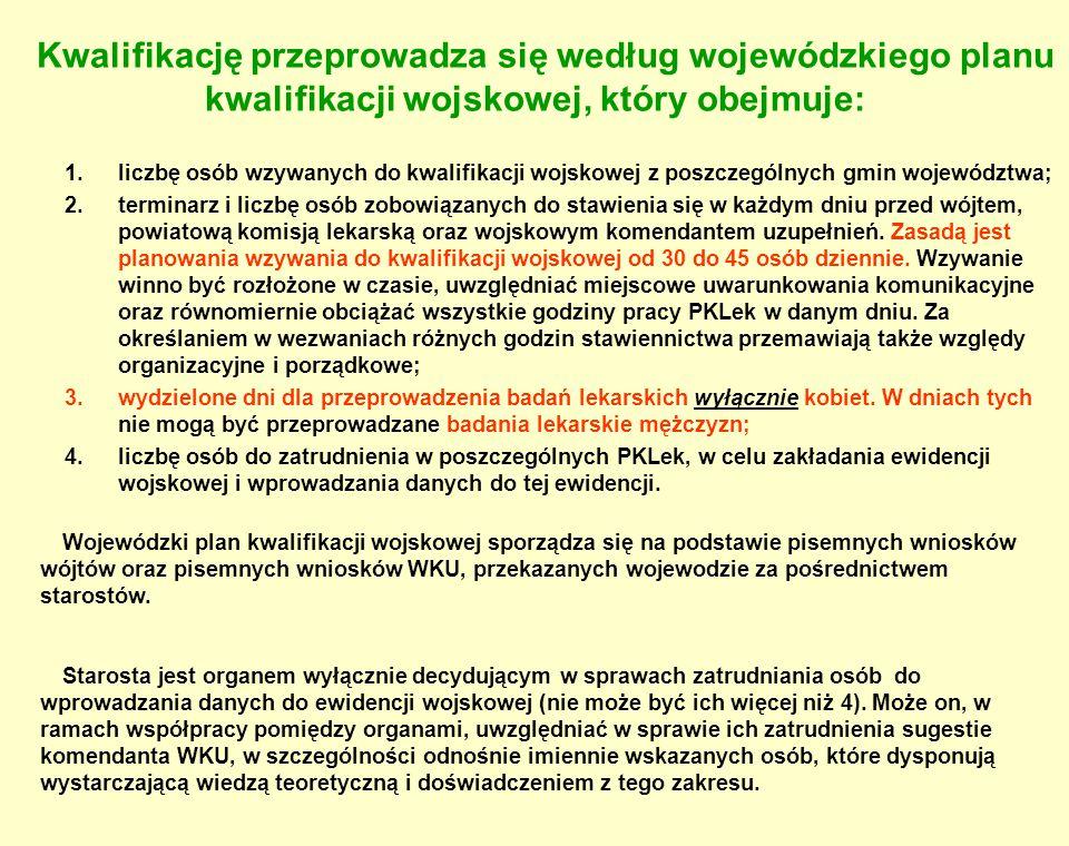Rozliczenie finansowe kwalifikacji wojskowej: Zestawienie dokumentów (dotacja celowa - § 2110) – przesłać do WBiZK ZUW do 31.08.2015 r.