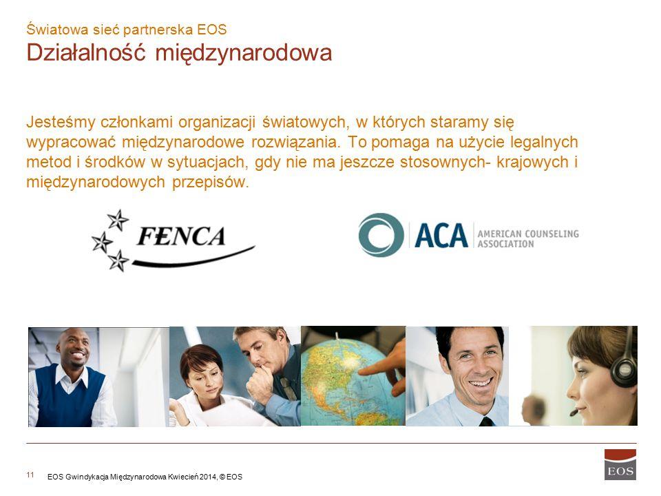 11 Jesteśmy członkami organizacji światowych, w których staramy się wypracować międzynarodowe rozwiązania.