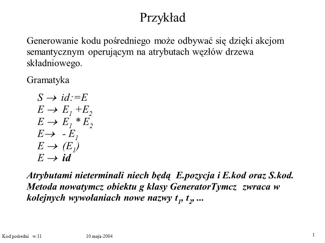 Adresowanie tablic dwuwymiarowych II W Loglanie i w Javie tablice są pewnego rodzaju obiektami.