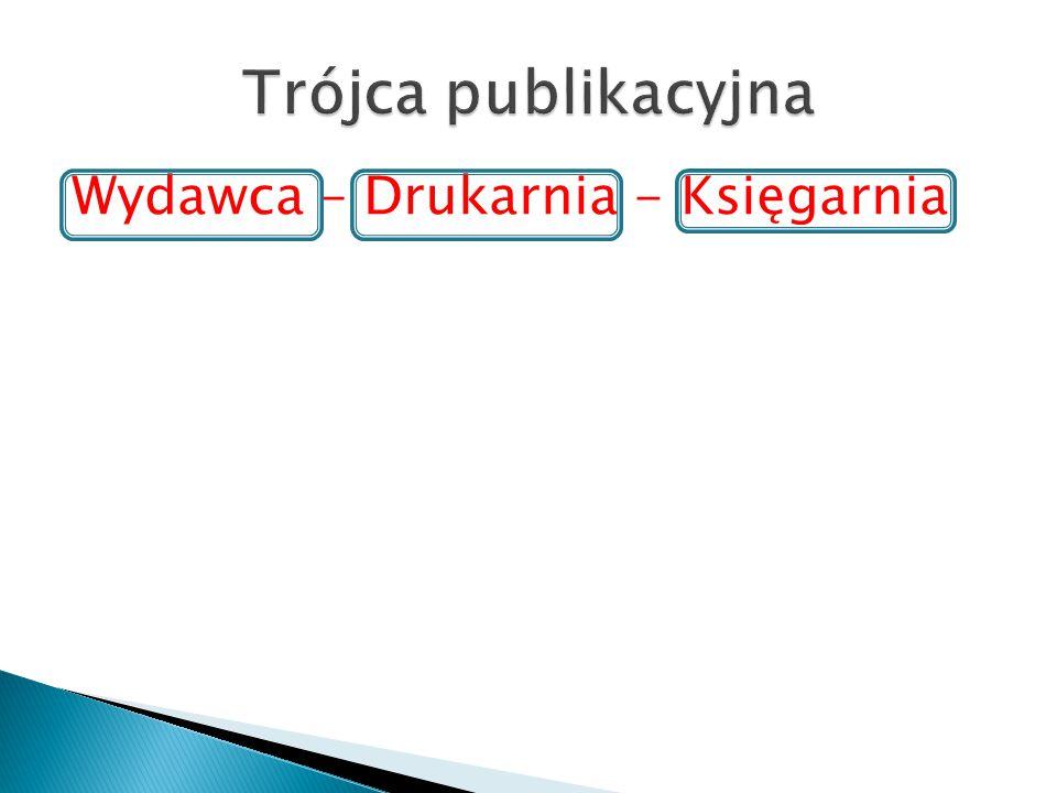 Wydawca – Drukarnia - Księgarnia