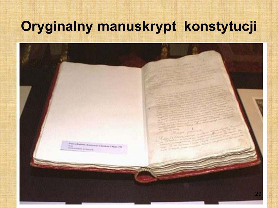 Współtwórcy konstytucji Stanisław Małachowski Stanisław Staszic Julian Ursyn Niemcewicz 28