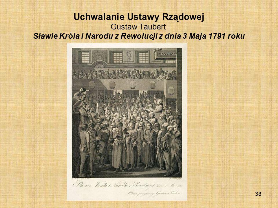 Widok sejmu w czasie uchwalania Konstytucji Kazimierz Wojniakowski 37