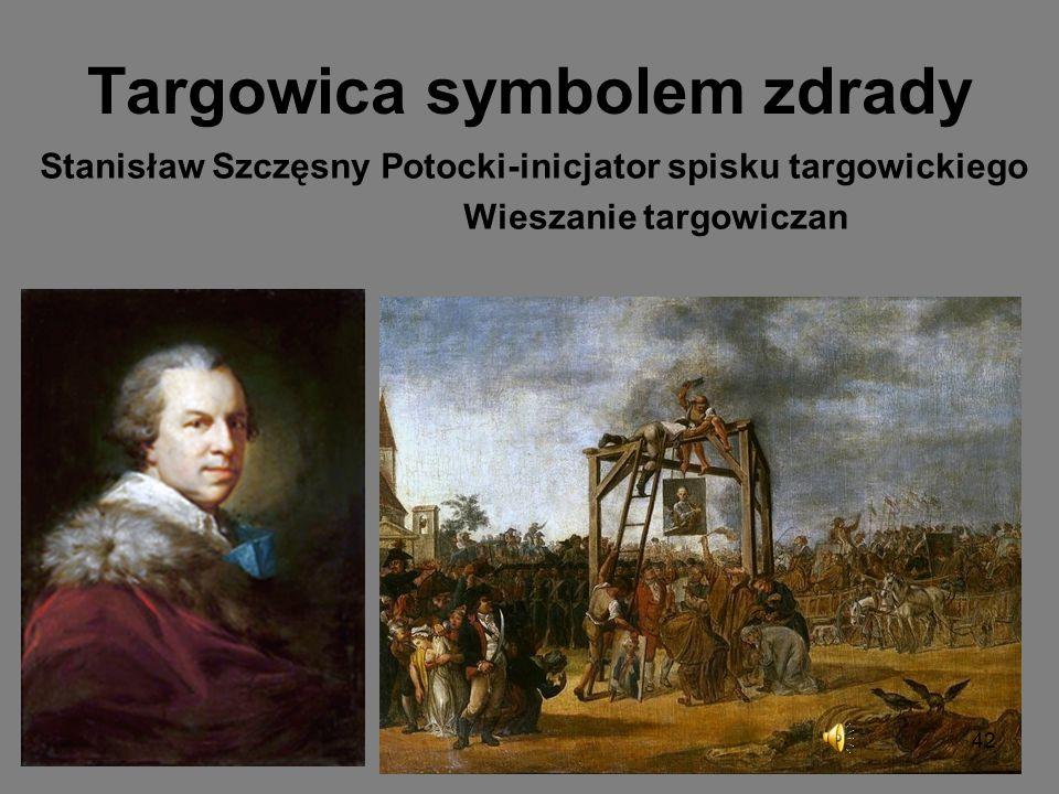 Co było później? Plan realizacji konstytucji zahamowany został przez obóz hetmański który w Targowicy zawiązał konfederację w 1792 roku i zwrócił się