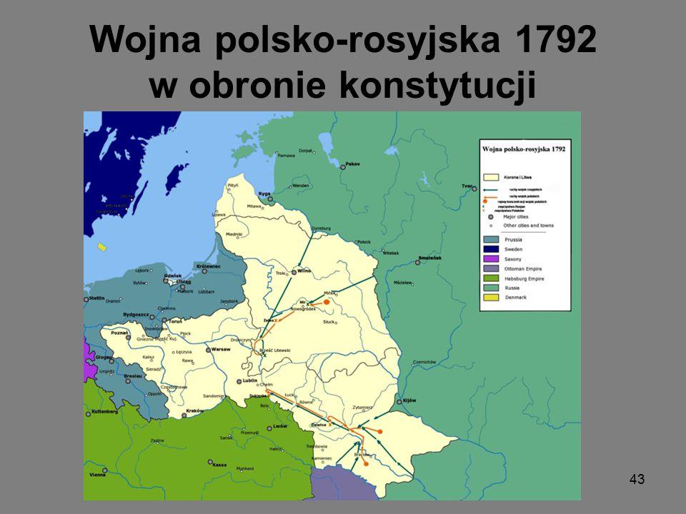 Targowica symbolem zdrady Stanisław Szczęsny Potocki-inicjator spisku targowickiego Wieszanie targowiczan 42