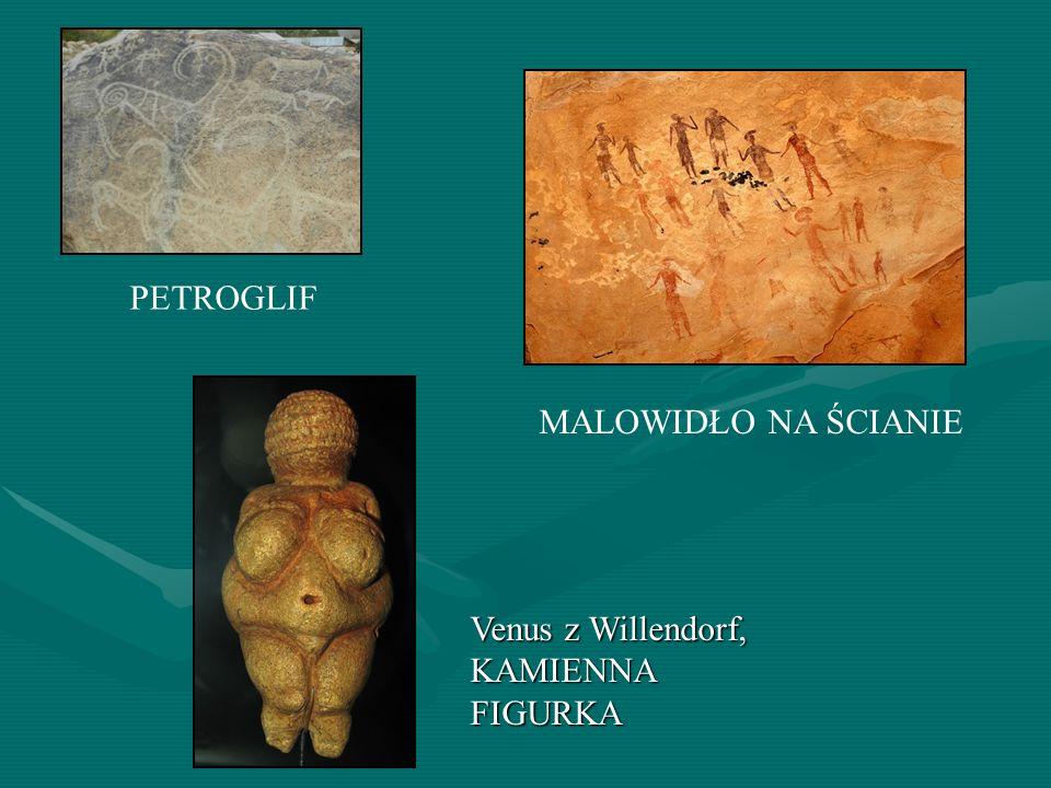 Venus z Willendorf, KAMIENNA FIGURKA PETROGLIF MALOWIDŁO NA ŚCIANIE