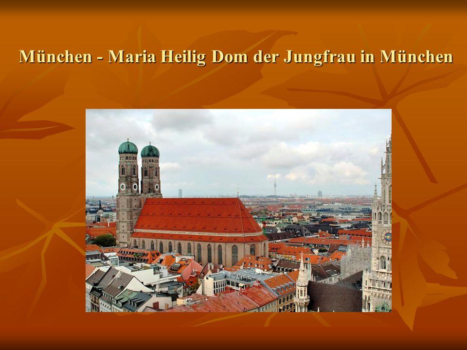 München - Maria Heilig Dom der Jungfrau in München t