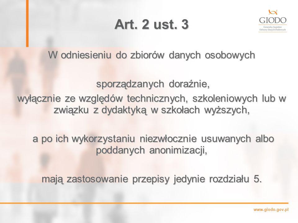 www.giodo.gov.pl Art.2 ust.
