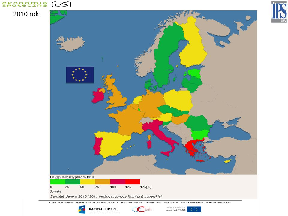 2005 2006 2007 2008 2009 European Union - 2762.8 61.5 58.8 61.8 74.0 European Union - 2563.2 62.0 59.4 62.5 74.7 Belgium92.1 88.1 84.2 89.6 96.2 Bulgaria29.2 21.6 17.2 13.7 14.7 Czech Republic29.7 29.4 29.0 30.0 35.3 Denmark37.8 32.1 27.4 34.2 41.4 Germany68.0 67.6 64.9 66.3 73.4 Estonia4.6 4.4 3.7 4.6 7.2 Ireland27.4 24.8 25.0 44.3 65.5 Greece100.0 106.1 105.0 110.3 126.8 Spain43.0 39.6 36.1 39.8 53.2 France66.4 63.7 63.8 67.5 78.1 Italy105.8 106.6 103.6 106.3 116.0 Cyprus69.1 64.6 58.3 48.3 58.0 Latvia12.4 10.7 9.0 19.7 36.7 Lithuania18.4 18.0 16.9 15.6 29.5 Luxembourg6.1 6.7 13.6 14.5 Hungary61.8 65.7 66.1 72.3 78.4 Malta70.1 63.4 61.7 63.1 68.6 Netherlands51.8 47.4 45.3 58.2 60.8 Austria63.9 62.1 59.3 62.5 67.5 Poland47.1 47.7 45.0 47.1 50.9 Portugal63.6 63.9 62.7 65.3 76.1 Romania15.8 12.4 12.6 13.4 23.9 Slovenia27.0 26.7 23.4 22.5 35.4 Slovakia34.2 30.5 29.6 27.8 35.4 Finland41.7 39.7 35.2 34.1 43.8 Sweden50.8 45.0 40.0 38.2 41.9 United Kingdom42.5 43.4 44.5 52.1 68.2 Norway44.5 55.3 52.4 49.9 43.7 General government consolidated gross debt as a percentage of GDP