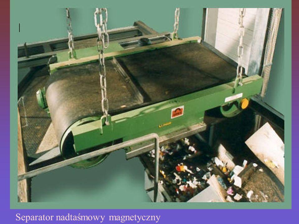 Separatory magnetyczne nadtaśmowe (podwieszane) są przeznaczone do montażu tam, gdzie zanieczyszczenia należy usuwać z produktów sypkich, znajdujących się na transporterach taśmowych będących w ruchu lub w zasypach rynnowych.