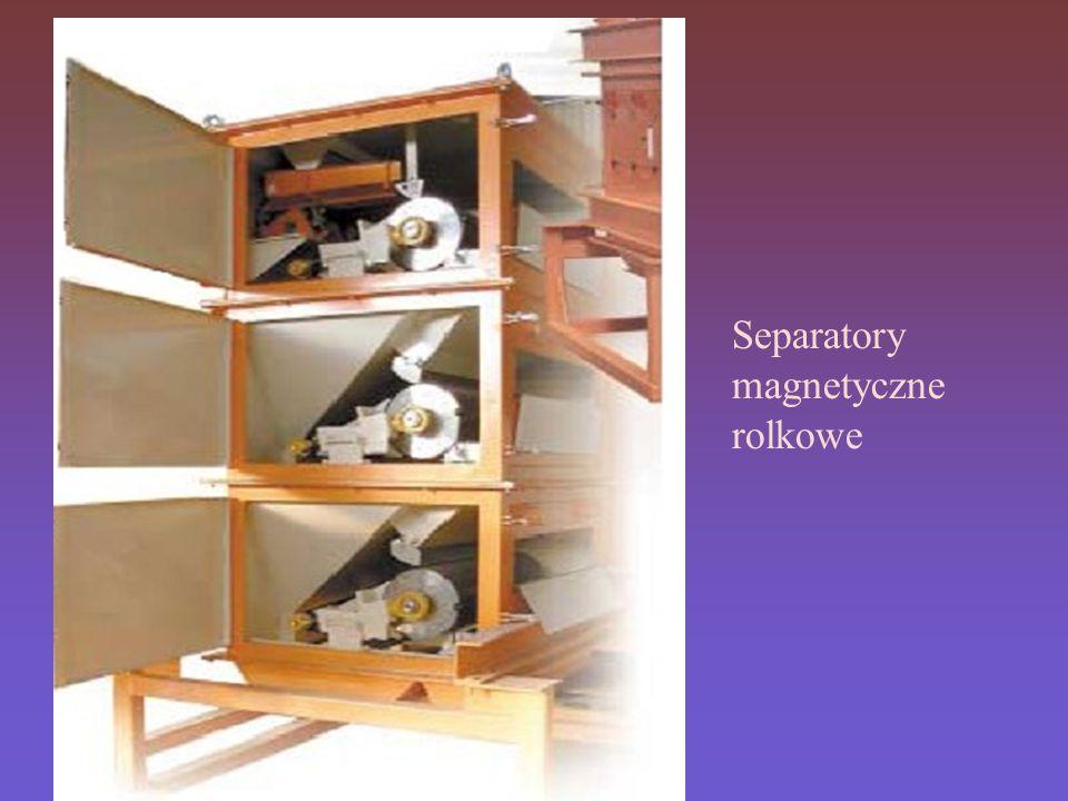 Separatory magnetyczne rolkowe