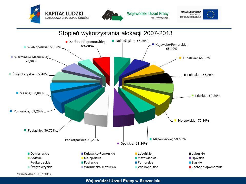 Wojewódzki Urząd Pracy w Szczecinie Konkurs nr 2/6.1.1/11