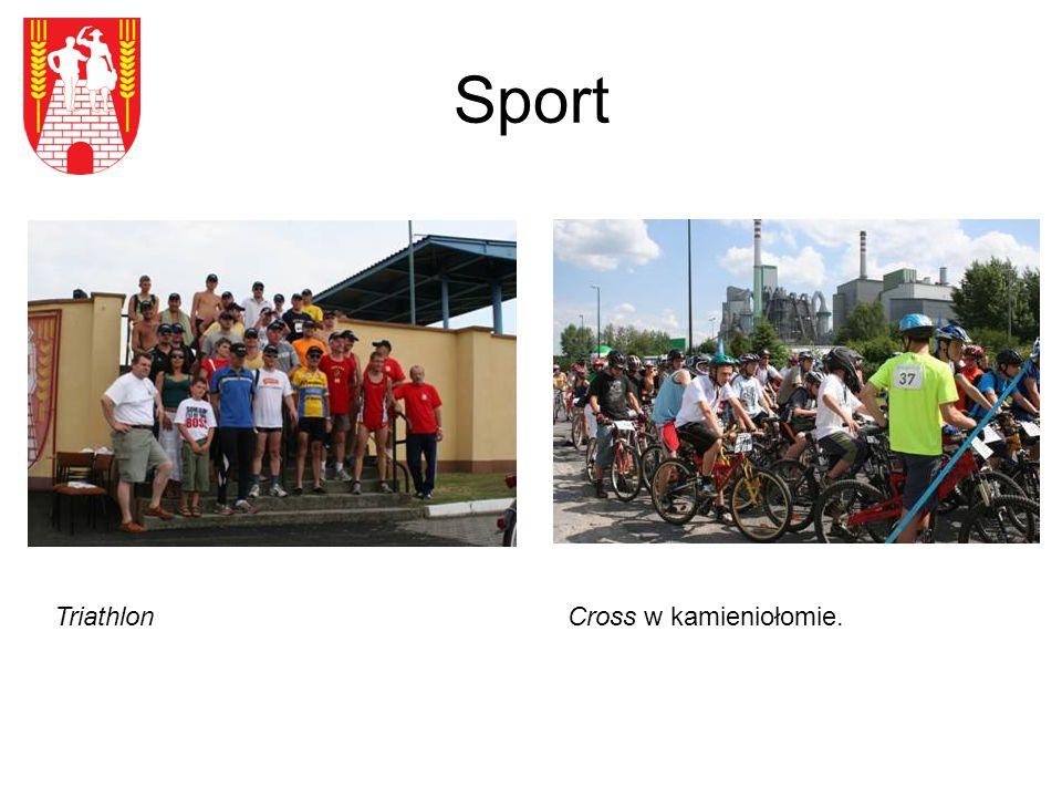 Sport Cross w kamieniołomie. Triathlon