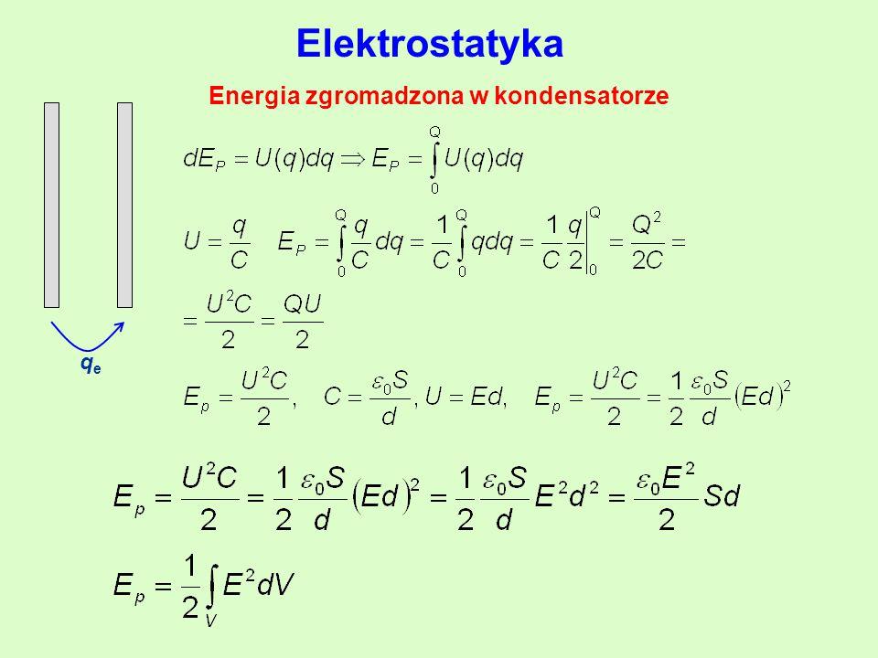 Energia zgromadzona w kondensatorze qeqe