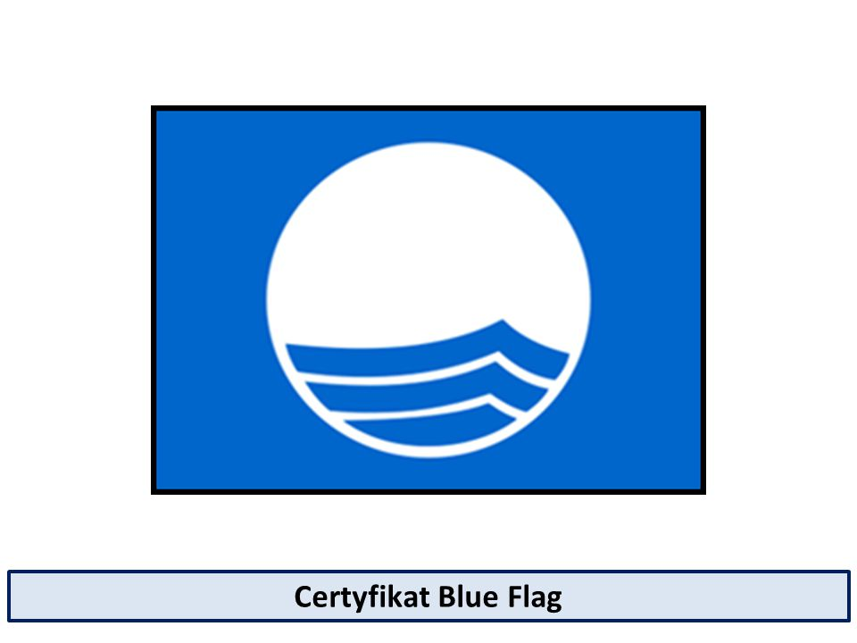 Certyfikat Blue Flag