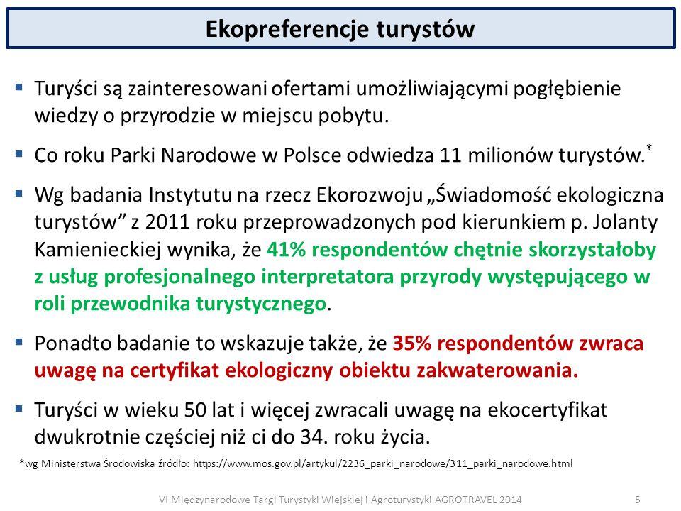VI Międzynarodowe Targi Turystyki Wiejskiej i Agroturystyki AGROTRAVEL 2014 Europejskie Centrum Rolnictwa Ekologicznego i Turystyki  ECETA Polska działa od ponad 20 lat i jest częścią sieci ECETA International zrzeszającej członków z 20 państw Europy.