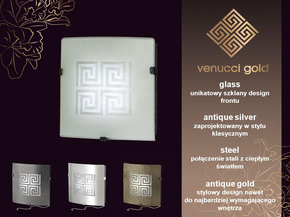 steel niepowtarzalne wzornictwo wyrafinowana prostota kształtów elegancka nakładka ze srebrnym tłoczeniem brushed wnętrza nabierają wyjątkowego charakteru elegancka nakładka ze srebrnym nadrukiem