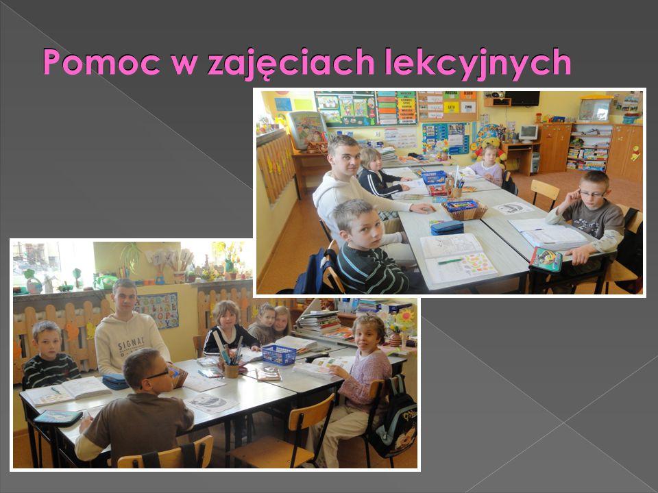 Pomoc w zajęciach lekcyjnych