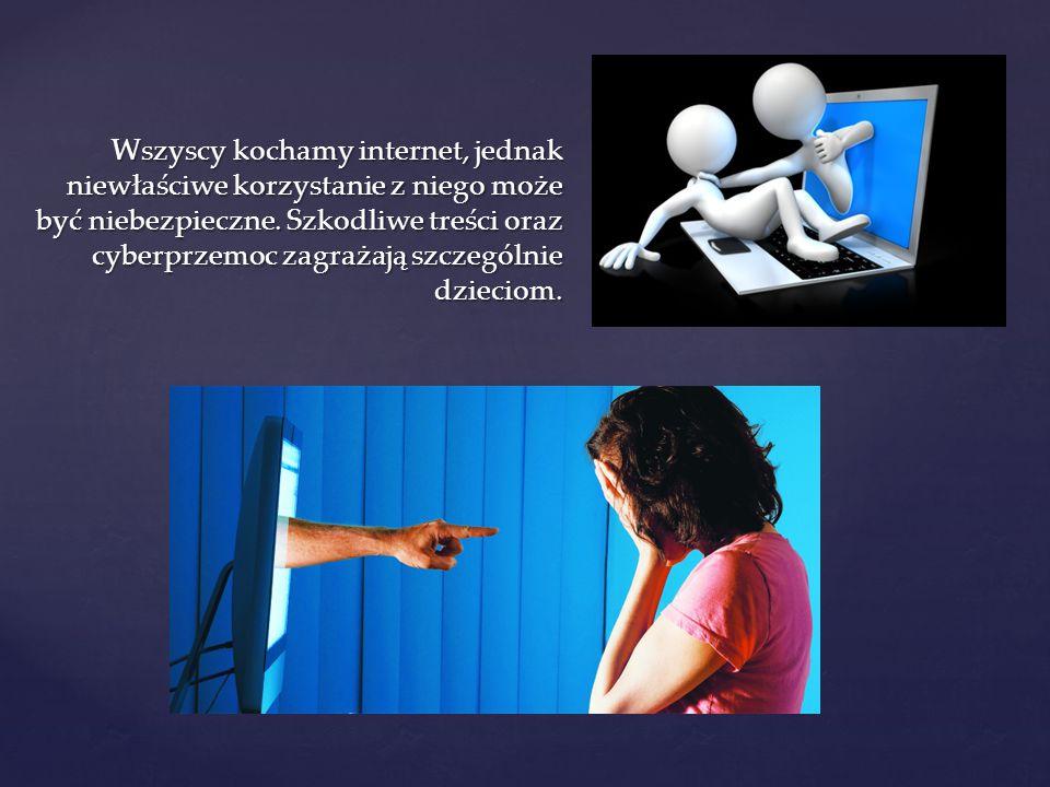 Cyberprzemoc (ang.cyberbullying) to inaczej przemoc z użyciem nowych technologii.
