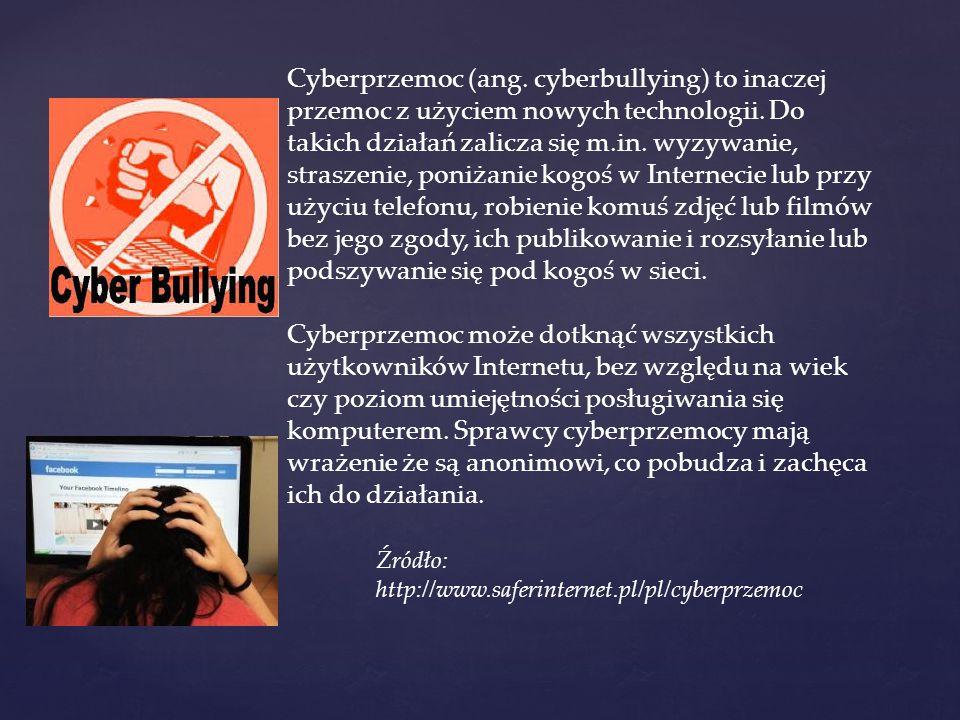 W internecie pojawiają się także treści, które uznajemy za szkodliwe.