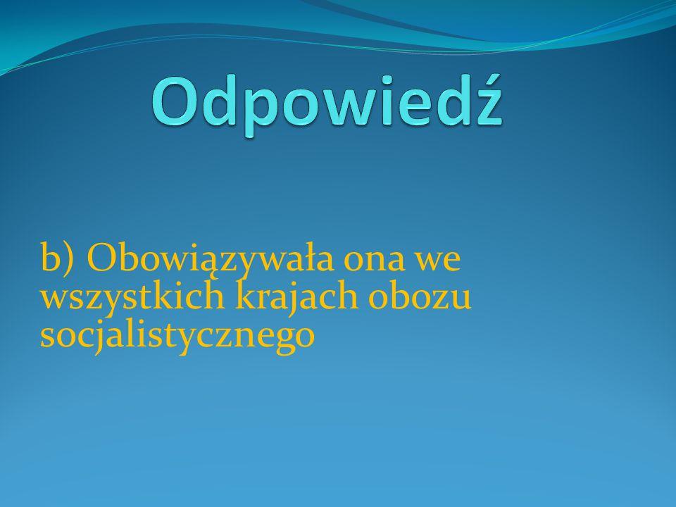 Strajk w Stoczni Gdańskiej, który zapoczątkował,,Epokę Solidarnościową'' rozpoczął się w a) Sierpniu 1980 b) Sierpniu 1981 c) Sierpniu 1989
