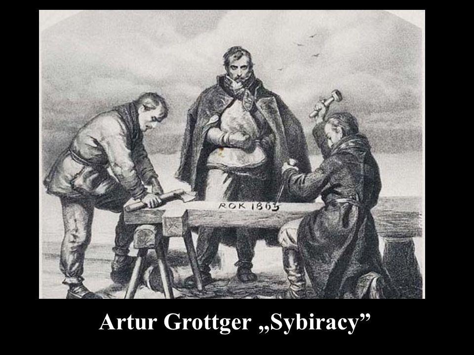 "Artur Grottger ""Sybiracy"""