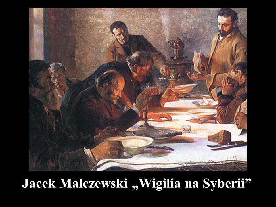 """Jacek Malczewski """"Wigilia na Syberii"""""""