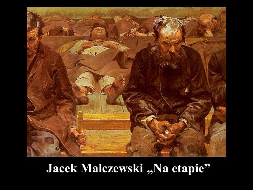 """Jacek Malczewski """"Na etapie"""""""