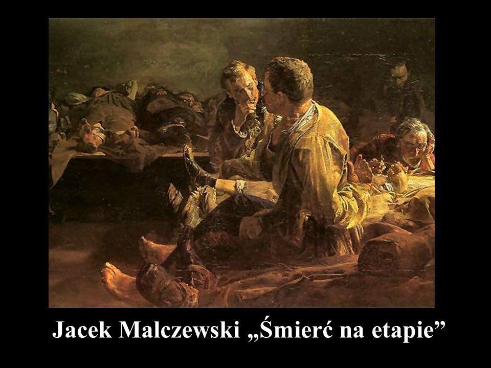 """Jacek Malczewski """"Śmierć na etapie"""""""