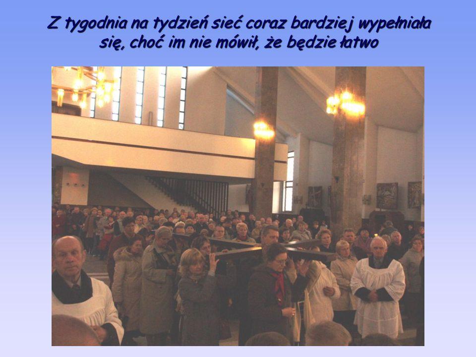 Bo ksiądz Piotr (jak to na Piotra przystało) zarzucił swoje sieci i wyłowił z naszej parafii całkiem niezły narybek