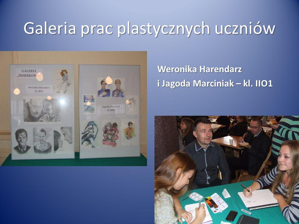 Galeria prac plastycznych uczniów Weronika Harendarz i Jagoda Marciniak – kl. IIO1