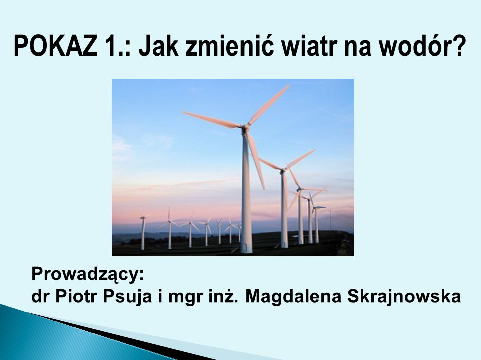 Prowadzący : Dorota Wodzińska