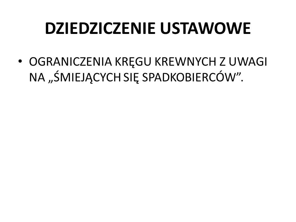 ZACHOWEK I REZERWA (5) ZachowekRezerwa SkutkiSystem zachowku nie prowadzi do rozdrobnienia majątku, bo roszczenie obligacyjne jest skierowane na pieniądze, a nie na np.