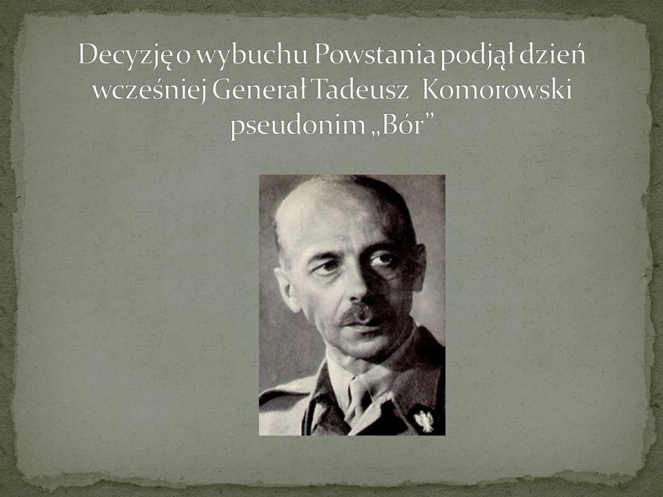 1.próba wyzwolenia stolicy spod okupacji niemieckiej 2.