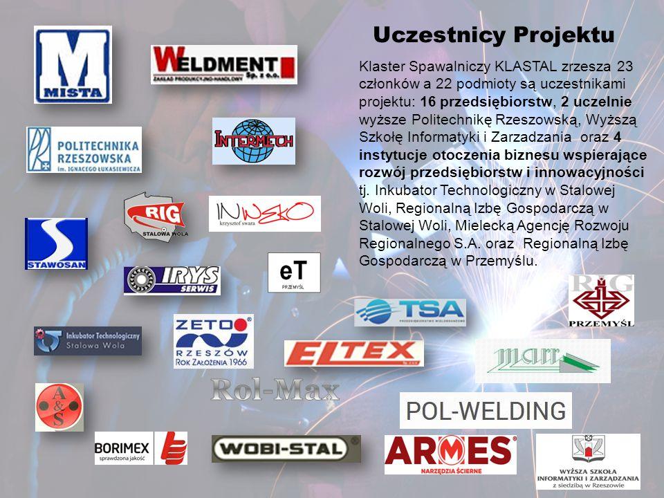 Uczestnicy Projektu Klaster Spawalniczy KLASTAL zrzesza 23 członków a 22 podmioty są uczestnikami projektu: 16 przedsiębiorstw, 2 uczelnie wyższe Poli