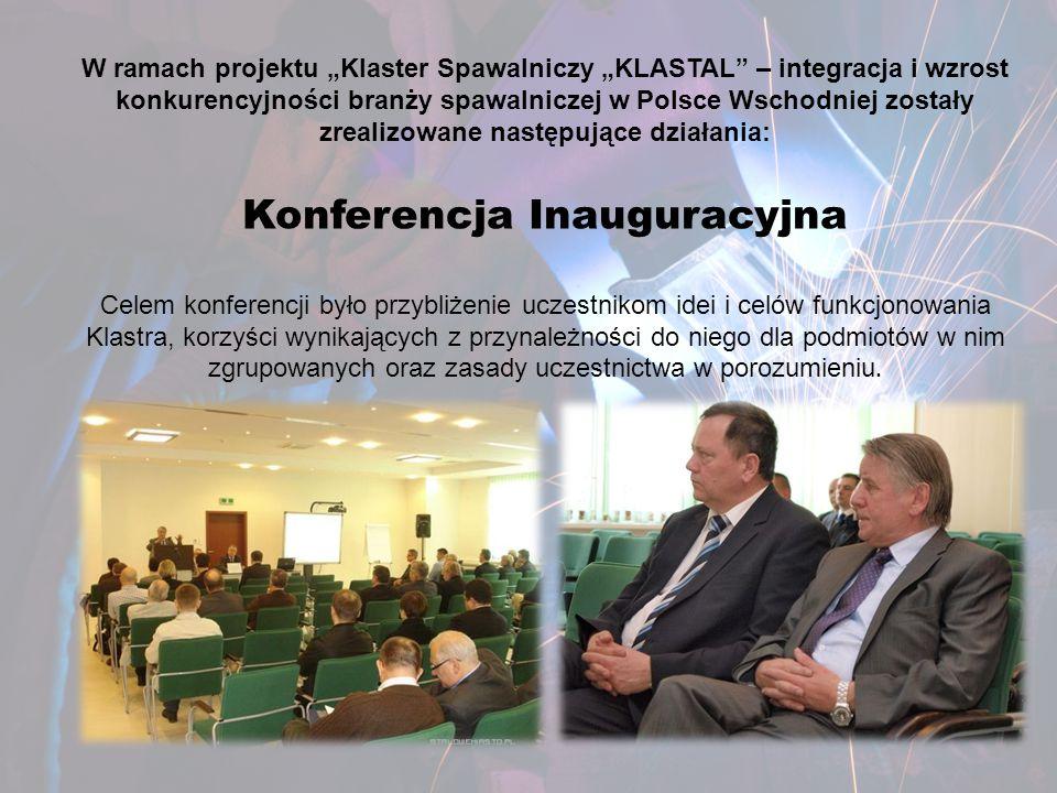 """Dziękujemy za uwagę www.klastal.org Zapraszamy do odwiedzenia naszej strony """"Klaster Spawalniczy """"KLASTAL – integracja i wzrost konkurencyjności branży spawalniczej w Polsce Wschodniej Numer i nazwa osi priorytetowej: Oś priorytetowa I Nowoczesna Gospodarka Numer i nazwa działania: Działanie I.4 """"Promocja i współpraca , komponent: Współpraca, obszar :Tworzenie i rozwój klastrów."""