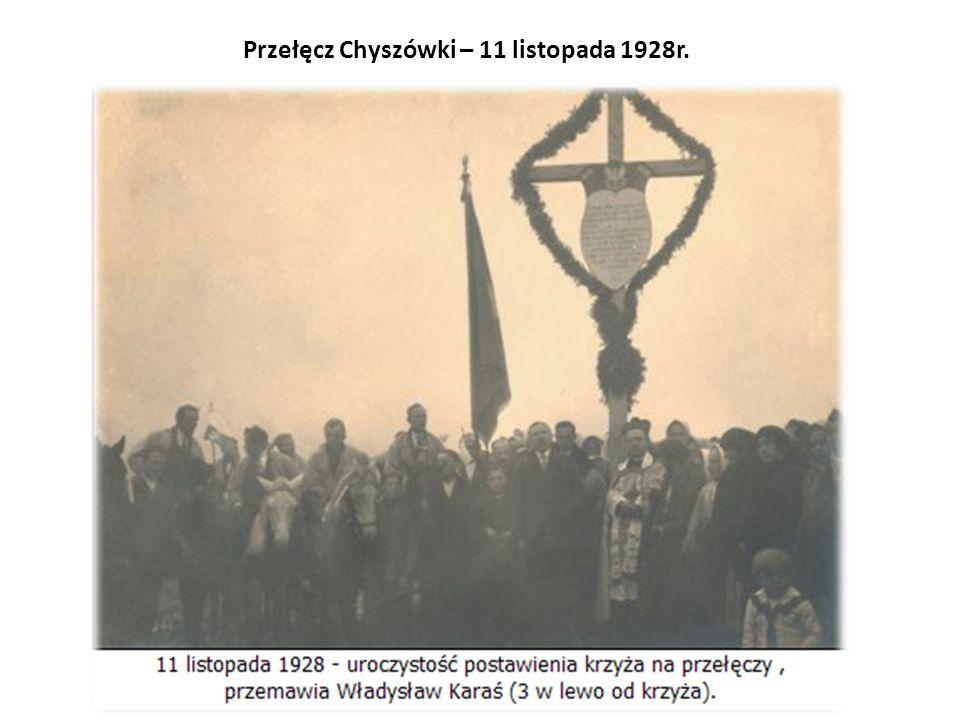 Przełęcz Chyszówki – 11 listopada 1928r.
