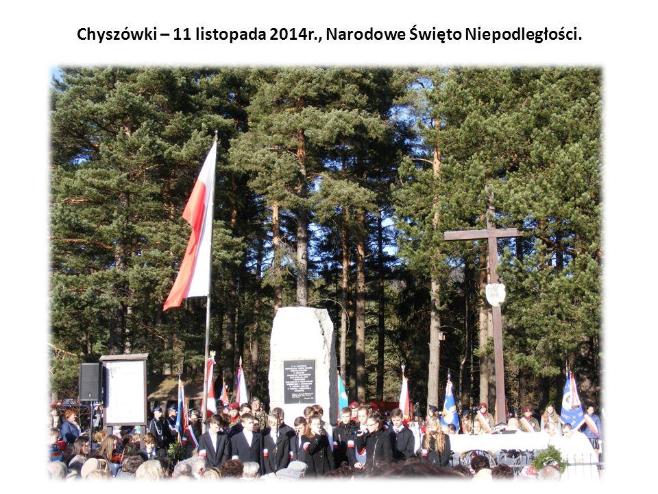 Chyszówki – 11 listopada 2014r., Narodowe Święto Niepodległości.
