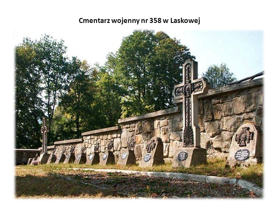 Cmentarz wojenny nr 358 w Laskowej