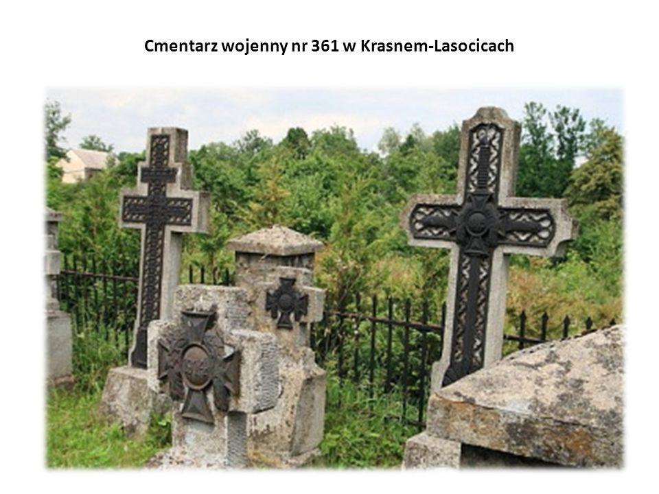 Cmentarz wojenny nr 361 w Krasnem-Lasocicach