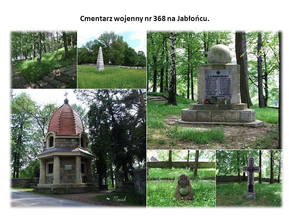 Cmentarz wojenny nr 368 na Jabłońcu.