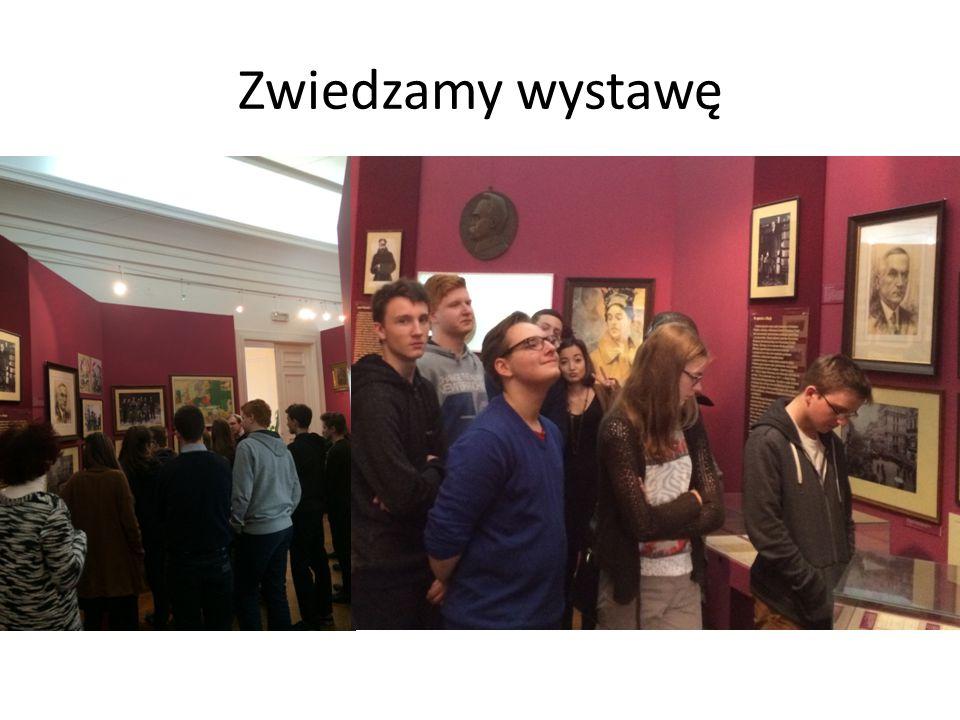 Zwiedzamy wystawę