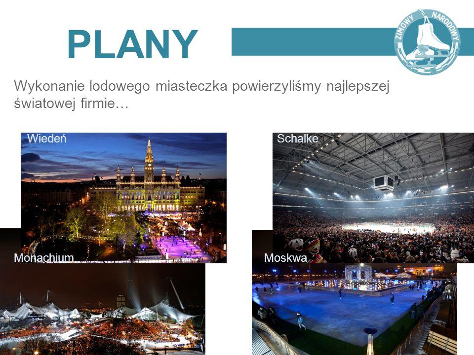 PLANY Wykonanie lodowego miasteczka powierzyliśmy najlepszej światowej firmie… Wiedeń Schalke Monachium Moskwa