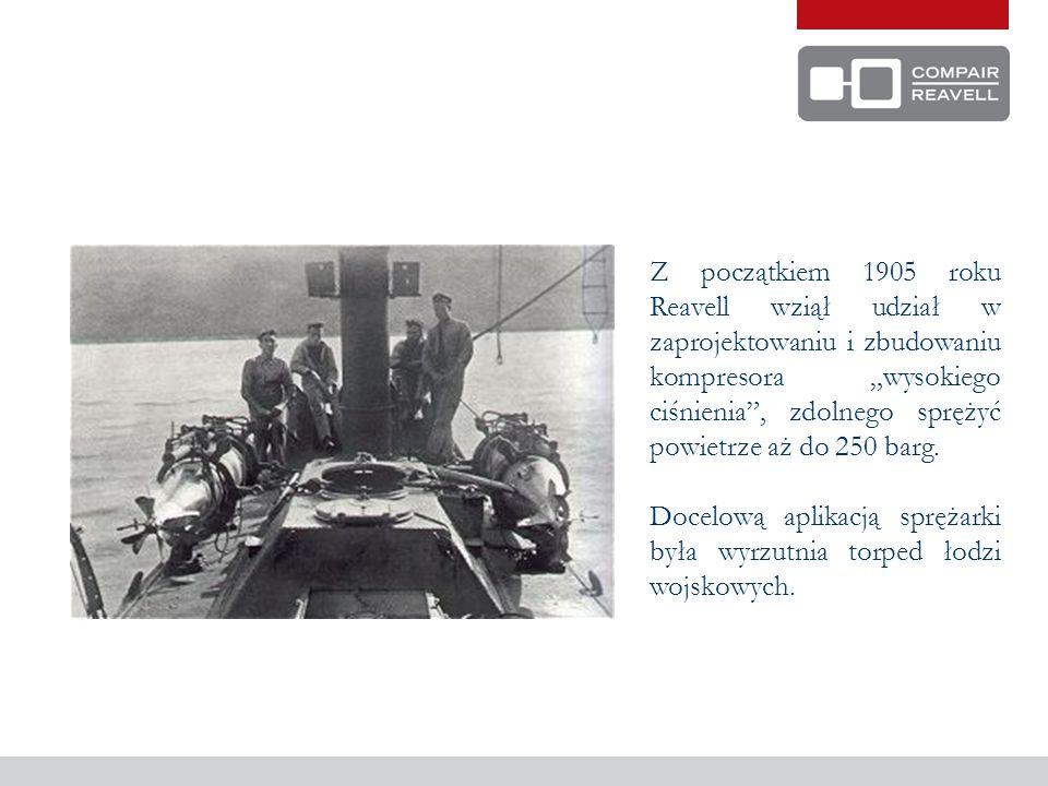 CIĄG DALSZY HISTORII ZAKŁADÓW REAVELL 1914 Ministerstwo zdecydowało, że zakłady Reavell będą odpowiednie do wytwarzania łusek pocisków o masie 18 funtów.